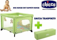 chicco box open country open sea + tappeto gioco + borsa trasporto inclusa