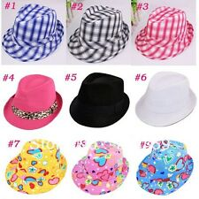Baby, Kids, Children's and Toddler, Boys & Girls Fedora Hat - Free USA Shipping
