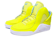 Supra Spectre Lil Wayne Chimera High Top Sneaker Skate Shoes Highlighter Neon