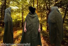 Military Canvas Poncho, wet weather, camping,