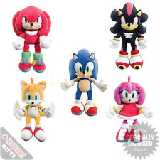 Sonic The Hedgehog 30cm Plush Soft Toys All Sonic Characters Retro Computer Game