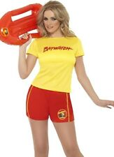 Ladies Baywatch Beach Lifeguard Fancy Dress Costume #32831 New by Smiffys