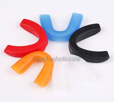 5 Colors Adult & Junior Gum Shield / Mouth Guard for Boxing Rugby .All Sports