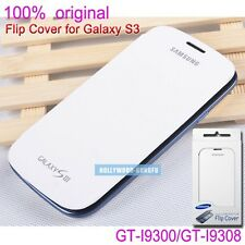 New Genuine Original Samsung Galaxy S3 S III GT-I9300 GT-I9308 Flip Cover Case