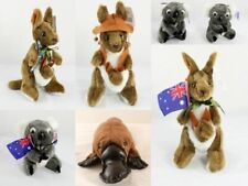 NEW 17-28cm Australian Souvenir Soft Toy Stuffed Animals Plush Koala Kangaroo