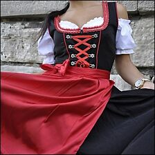Dirndl Oktoberfest German Austrian Dress Sizes: 4.6.8.10.12.14.16.18.20.22