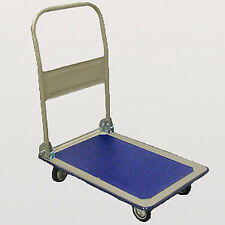 150 kgs or 300 kgs FOLDING PLATFORM TROLLEY CART WAREHOUSE PICKING SACK TRUCK
