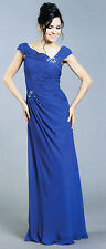 3 Colors Mother Of Bride/Groom LONG DRESS HOMECOMING EVENING FORMAL S-4XL