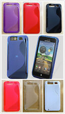 Soft S-Line TPU Hybrid Gel Case Cover for AT&T Motorola Atrix HD 4G LTE MB886