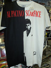 SCARFACE BIG POSTER SUBLIMATION DYE PRINT T-SHIRT NEW !