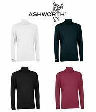 Ashworth Roll Neck Top Long Sleeve Golf Jumper
