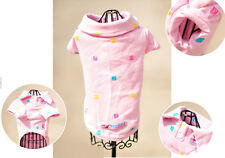 Pet Clothes Manmade Embroidery Sweet Dog Coat Cute Get 1 Elastic Band For Free