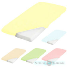 Pure Cotton Cotbed Junior Size 70 x 140cm Fitted Sheet Nursery Toddler Bedding