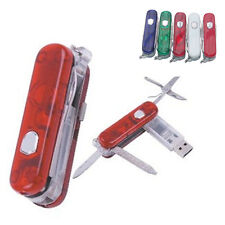 New 4 Colors Swiss Army Knife 4-32GB USB 2.0 Memory Stick Flash pen Drive SP090