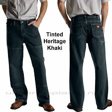 Dickies Jeans Relaxed Fit Workhorse Stone Washed Double Knee Cell phone 15293