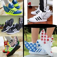 Men/Women Sneakers Running Hip-Hop Shoes Lover's Casual Sports Shoes Angel wings