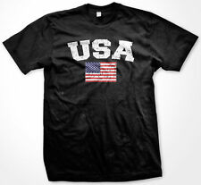 USA United States World Cup Soccer Olympic National Pride Flag Mens T-Shirt