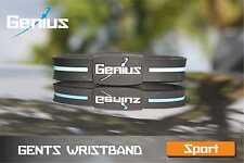 Ionic Sports Wristband by Genius - Mens 8""