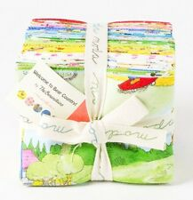 WELCOME TO BEAR COUNTRY Moda Fabrics Layer Cake FQ Bundle Kids Prints Brights