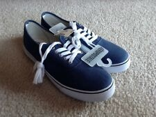 Mens AEROPOSTALE Solid Canvas Lace-Up Sneakers Shoes NWT #8281