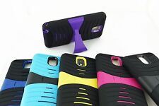 Hard Heavy Duty Armor Kickstand Case Cover for Samsung Galaxy Note 3 III N9000