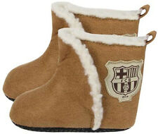 FC Barcelona Official Product Winter Booties Club Crested Newborn-9/12 Months