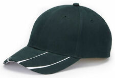 Adams Structured Self Fabric 6 Panel 100% Cotton Mid Crown Baseball Cap. LG102