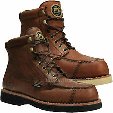 """Mens Work Boots Red Wing Irish Setter Wingshooter 7"""" Waterproof Ultradry Brown"""