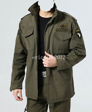 Fashion New Cool Men's US Army 101st Airborne Style M65 field jacket-D01
