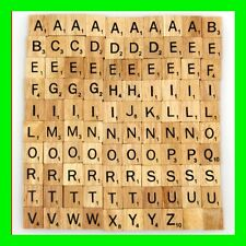Customize wooden scrabble tiles complete set for Jewelry handcrafts scrapbooking