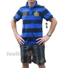 Nike Inter Covert Vintage Polo & Team Shorts kit 543967 533882 Internazionale