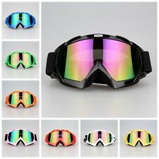 Off-Road Motocross Sports ATV Dirt Bikes Motorcycle Goggles Eyewear Colors Lens
