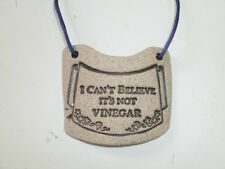 Wine Bottle Tags/Labels New Stoneware/Funny/Humorous