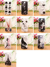 LOVELY CARTOON Accessory Hard Protection Case Back COVER SKIN For HTC DESIRE 300
