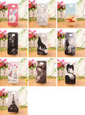 LOVELY CARTOON Accessory Hard Protection Case Back COVER SKIN For HTC DESIRE 601