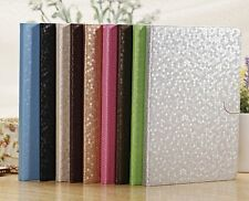 Diamond Pattern Leather Flip Case Magnetic Smart Cover Stand for iPad Air iPad 5