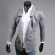 New Fashion Design Men's Slim Fit Thin Casual Open Blazer Coat Jackets Tops Hot