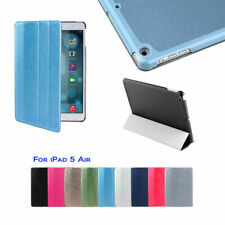 Shinny Texture Design Magnetic Smart Cover Leather Case for Apple iPad Air 1st