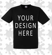 DTG Premium custom printed design your own printed t shirt hoodie 100% cotton