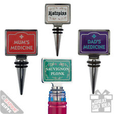 Wine Stoppers - Joke funny dinner party wine corks. Comedy stops for your bottle