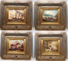 """Oilograph Crackle Effect 8""""x10"""" Print in an Ornate Gilt Wood Frame - 19 Images"""