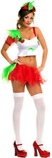 ADULT sexy MUSIC LEGS strawberry SHORTCAKE girl FRUIT party HALLOWEEN costume