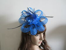 Special Fascinators New Feather Hair Fascinator,10 Colors Available,Free Shiping