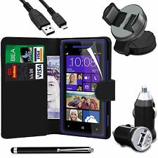 Usb Charger Leather Wallet Case Sp Stylus Car Holder Data Cable for Various Sets