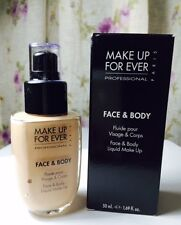 Make Up For Ever Face & Body Liquid Make Up, choose your color  -Full size, BNIB