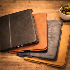 LUXURY 'LONDON LEATHER' APPLE IPAD MINI 1 & 2 PREMIUM CASE COVER SLEEVE