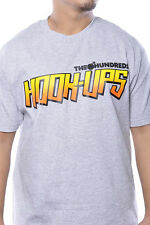 The Hundreds Hook Ups Collab Brand Logo Tee Shirt Skate Streetwear Top