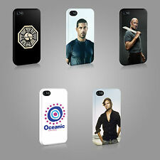 LOST DHARMA INITIATIVE OCEANIC FLIGHT 815 CASE HARD COVER FOR iPHONE OR SAMSUNG