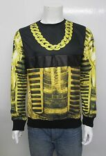 HUDSON GOLD TUT POLY CREWNECK SWEATER 5601-BLK SELECT SIZE