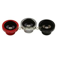 Hot Magnetic 180° Detachable Fish Eye Camera Lens for Apple iPhone 4 4S 5 5S 5C